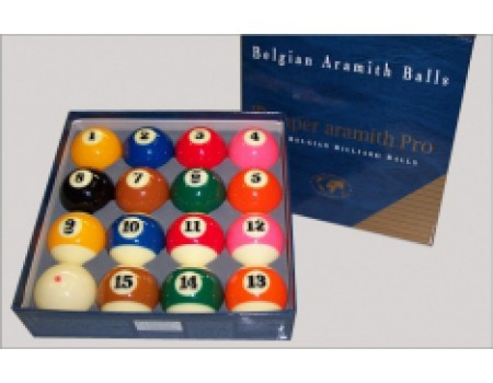 Poolballen Aramith Pro Tv Cup 57,2 mm