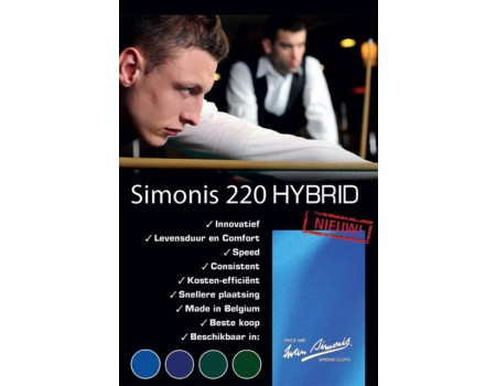 Simonis Hybrid 220 biljartlaken