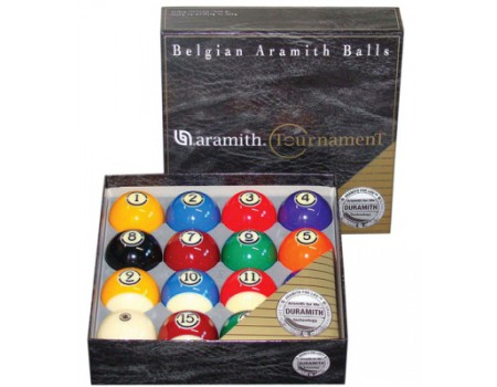 Aramith Tournament US Tournament Poolballen 57.2mm DURAMITH
