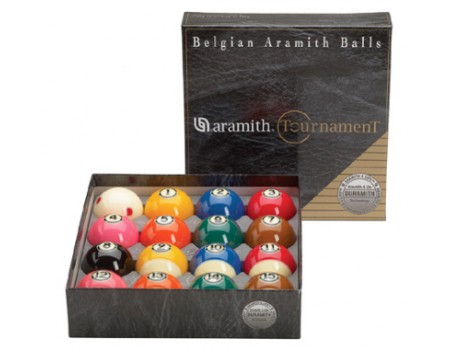 Aramith Tournament US Tournament Poolballen 57.2mm DURAMITH PRO TV