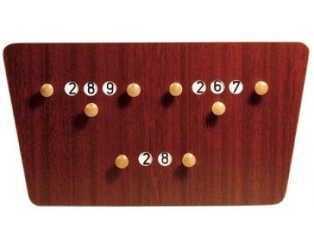 Biljart Scorebord Vlinder