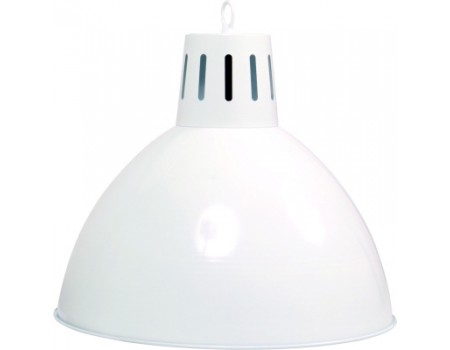 Buffalo industrial billiard lamp white