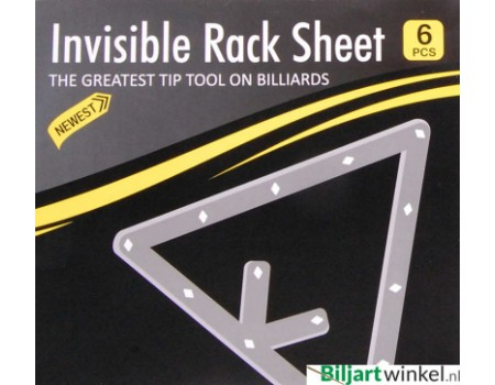 Invisible Rack Sheets - Set van 6 stuks per verpakking