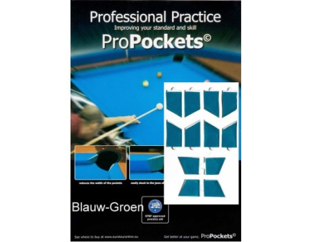 Pro Pockets Reducers, blauw-groen