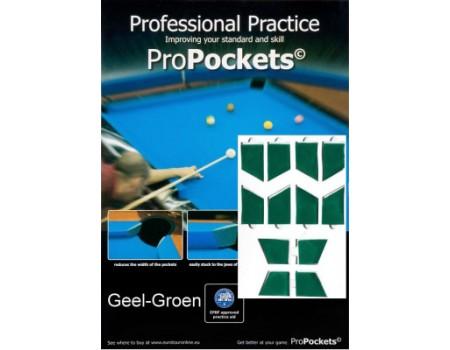 Pro Pockets Reducers, geel-groen