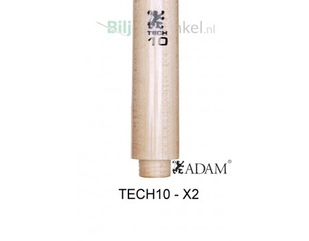 Adam TECH10 Laminated Shaft - X2 double joint sluiting