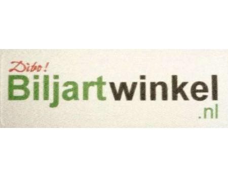 Biljartwinkel.nl textiel sticker