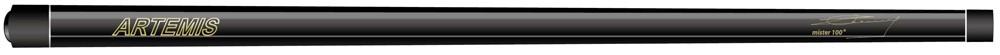 Artemis Mister 100 Black met logo