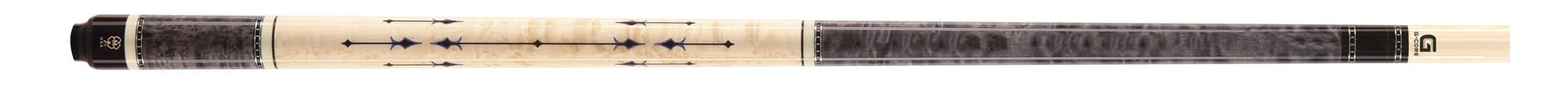 McDermott CRM418 Birdseye Titanium Grey/inlay carom