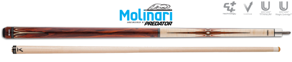 Molinari Sung-Won Choi series 2 COCOBOLO - OP BESTELLING